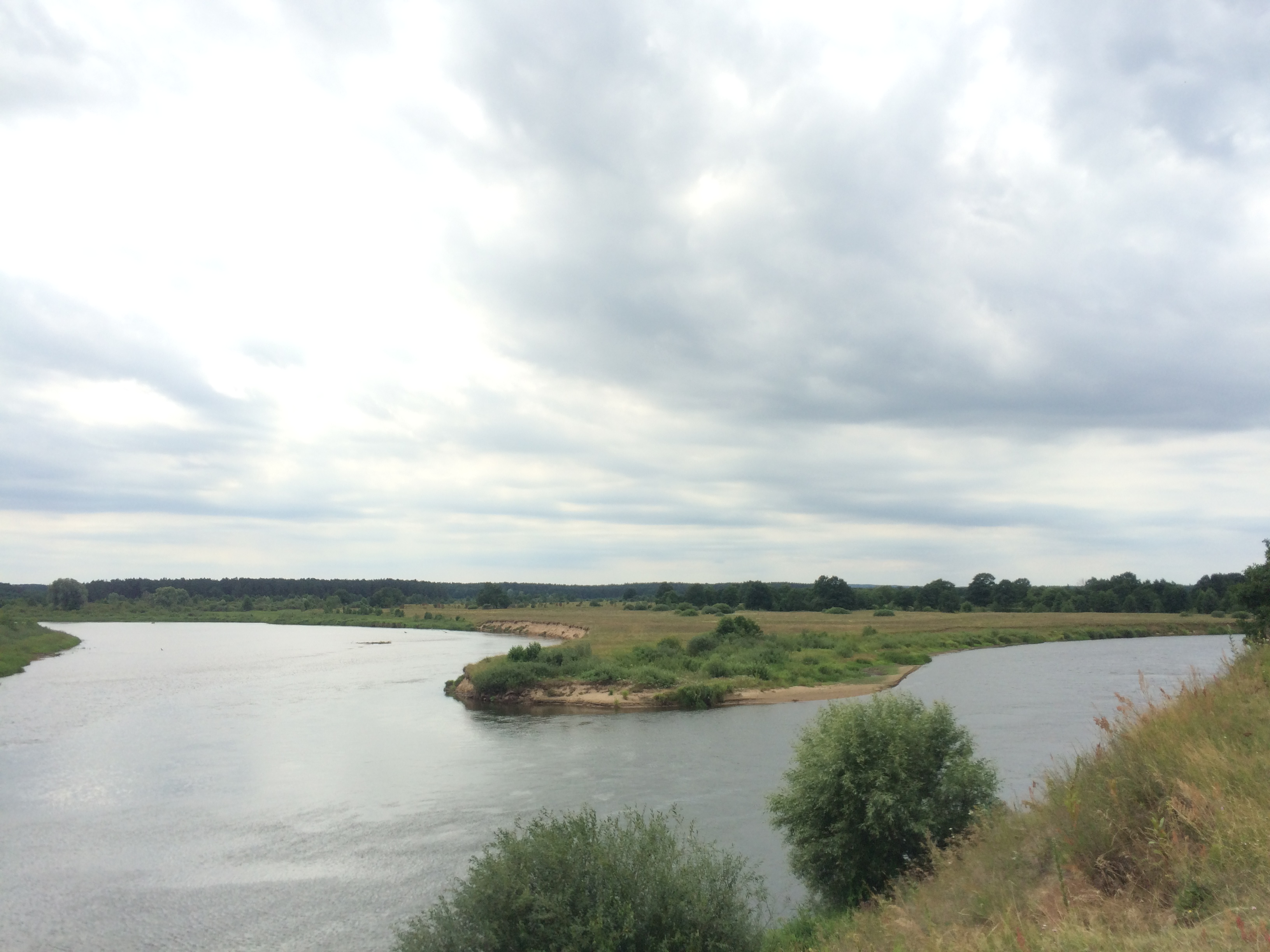 Сплавы на байдарках по реке Неман